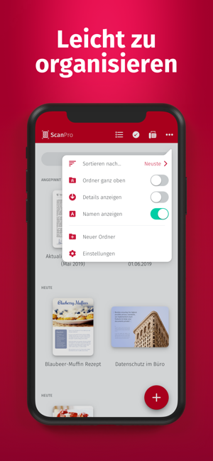 ‎ScanPro App - Dokumente, PDF u Screenshot