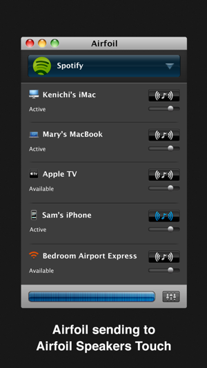 ‎Airfoil Speakers Touch Screenshot