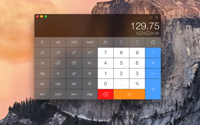 ‎Calcbot - The Smart Calculator Screenshot