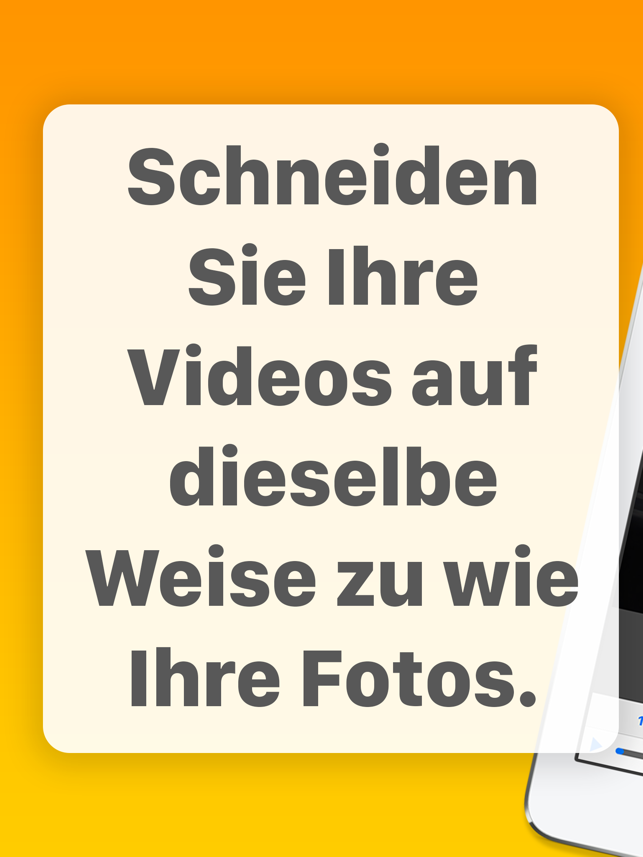 ‎Videos zuschneiden Screenshot