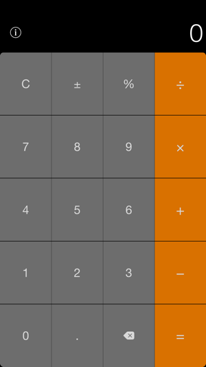 ‎Calculator Widget for Notification Center Screenshot