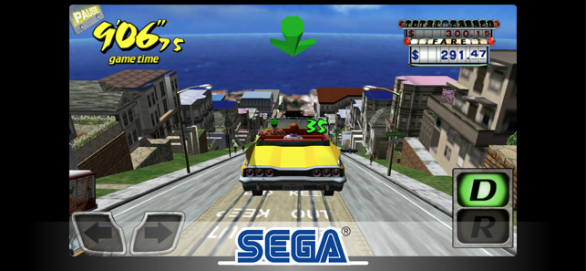 ‎Crazy Taxi Classic Screenshot