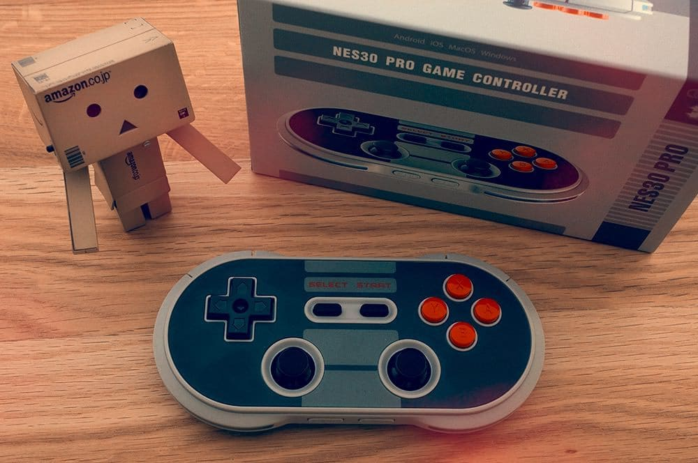 "Review: 8Bitdo NES30 Pro ""Crissaegrim"" – Retro-Controller aufpoliert, leider ohne MFI-Support"