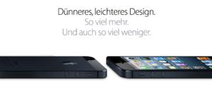 [Wirre Gedanken] Das neue iPhone 5: ein paar Gedanken dazu