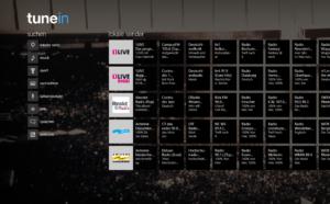TuneIn Radio-App nun auch für Windows 8 verfügbar