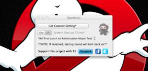 StartNinja · Den Mac lautlos hochfahren lassen