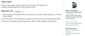 Ein paar Tage ohne iPhone – ab zum Apple-Service