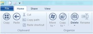 Ribbon Icons Customizer · Ribbon-Icons des Windows-Explorer aus Windows 8 anpassen
