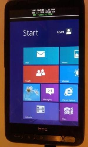 Nach Windows Phone 8: Auch Windows RT läuft auf dem HTC HD2