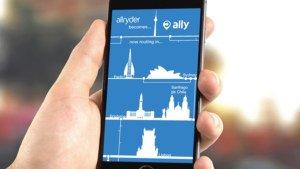 ÖPNV-App Allryder für iOS und Android wird zu Ally, Watch-App veröffentlicht