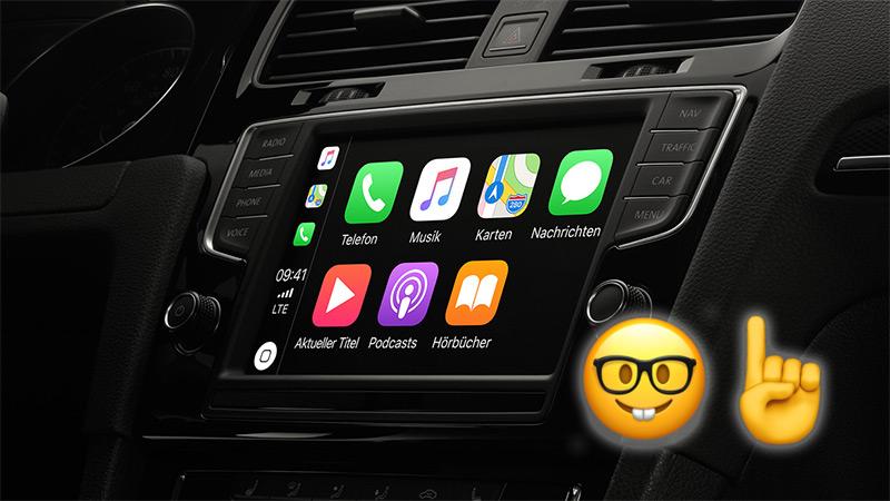 apple carplay die reihenfolge der app icons ndern und apps l schen. Black Bedroom Furniture Sets. Home Design Ideas