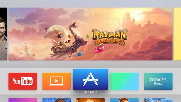 Apple TV UI