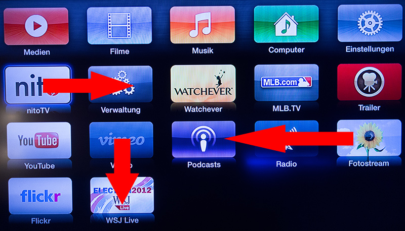 appletv-iconsverschieben