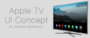 Konzept: User Interface des Apple TV im Stile von iOS 7