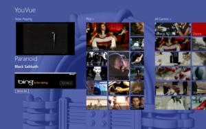 Windows-8/RT-App YouVue macht aus YouTube eine Jukebox