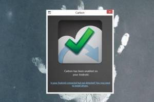 Backup-App Carbon für Android in neuer Beta und mit Support für Geräte ohne Root