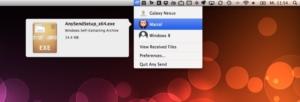 Any Send · Dateien schnell zwischen Mac, Windows und Android austauschen