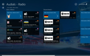 Audials Radio · Tolle Radio-App für Windows 8 und RT