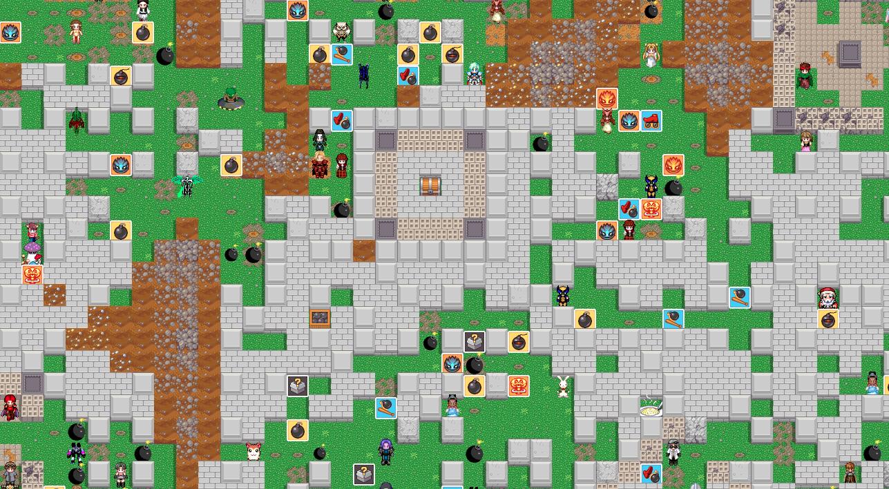 Jeux descalade sur un mur