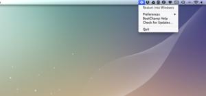 BootChamp: Schnell zwischen von Mac OS X auf Windows (BootCamp) wechseln