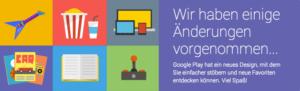Google Play bekommt neues Desktop-Design · WP-Appbox 1.8.8 unterstützt dieses nun