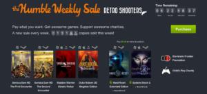 Humbe Weekly Sale mit sechs Retro-Shootern gestartet