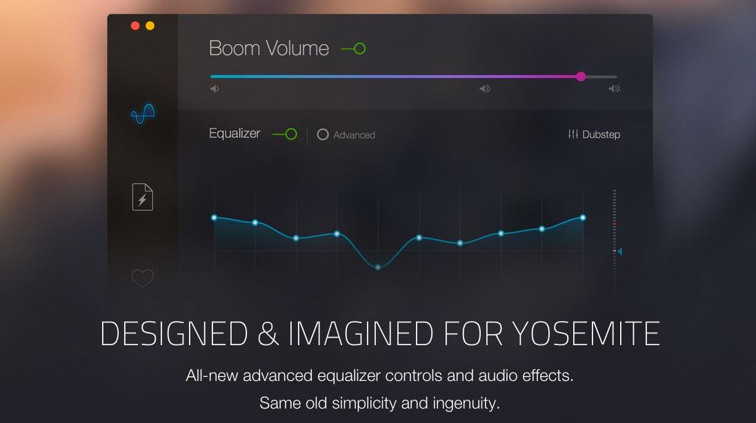 boom 2 erh ht die lautst rke eures macs und bietet systemweiten equalizer. Black Bedroom Furniture Sets. Home Design Ideas