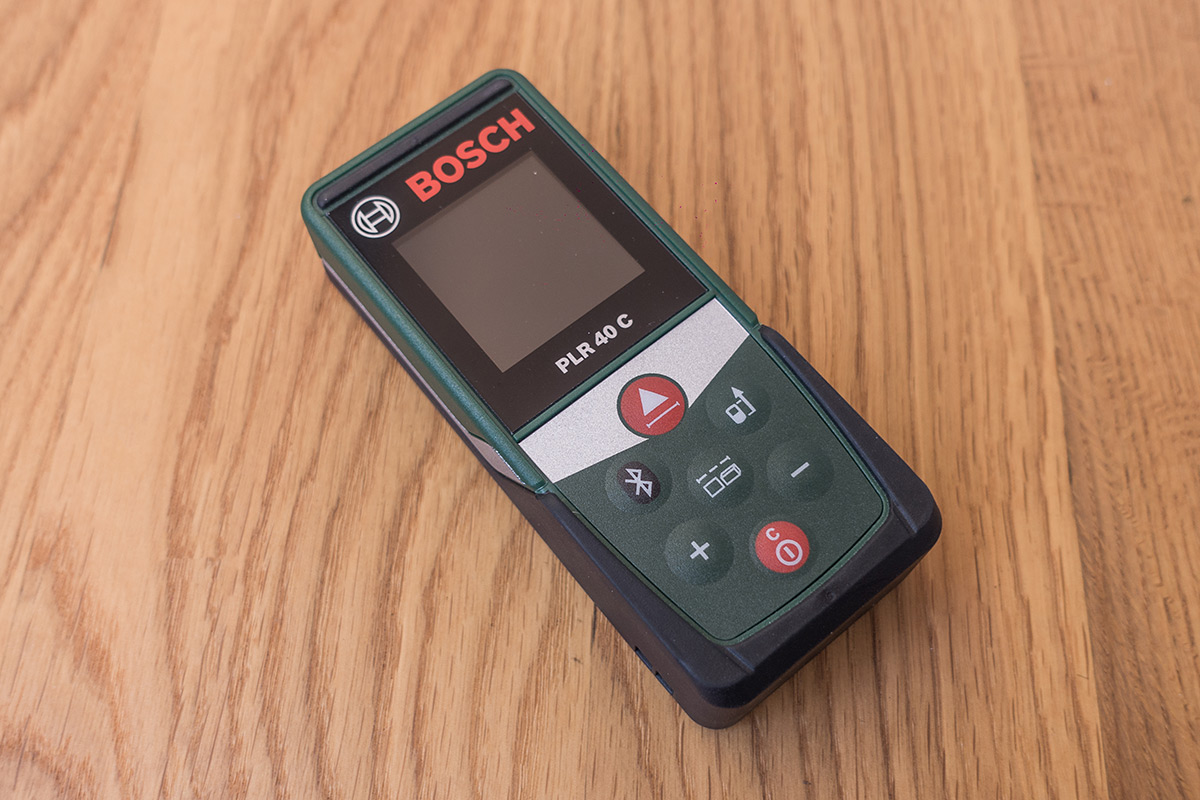 Bosch plr 30 40 c: laser entfernungsmesser mit app anbindung im test