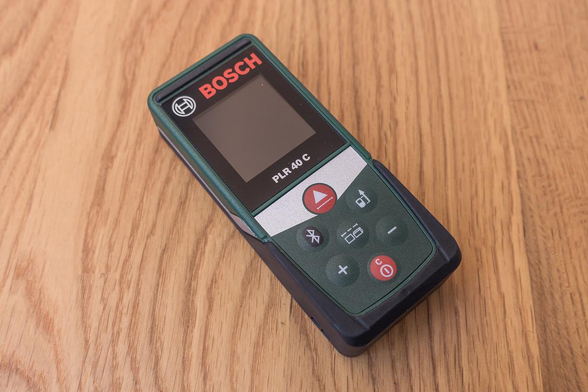 Laser Entfernungsmesser Bosch Plr 40 C : Bosch plr c laser entfernungsmesser mit app anbindung im test