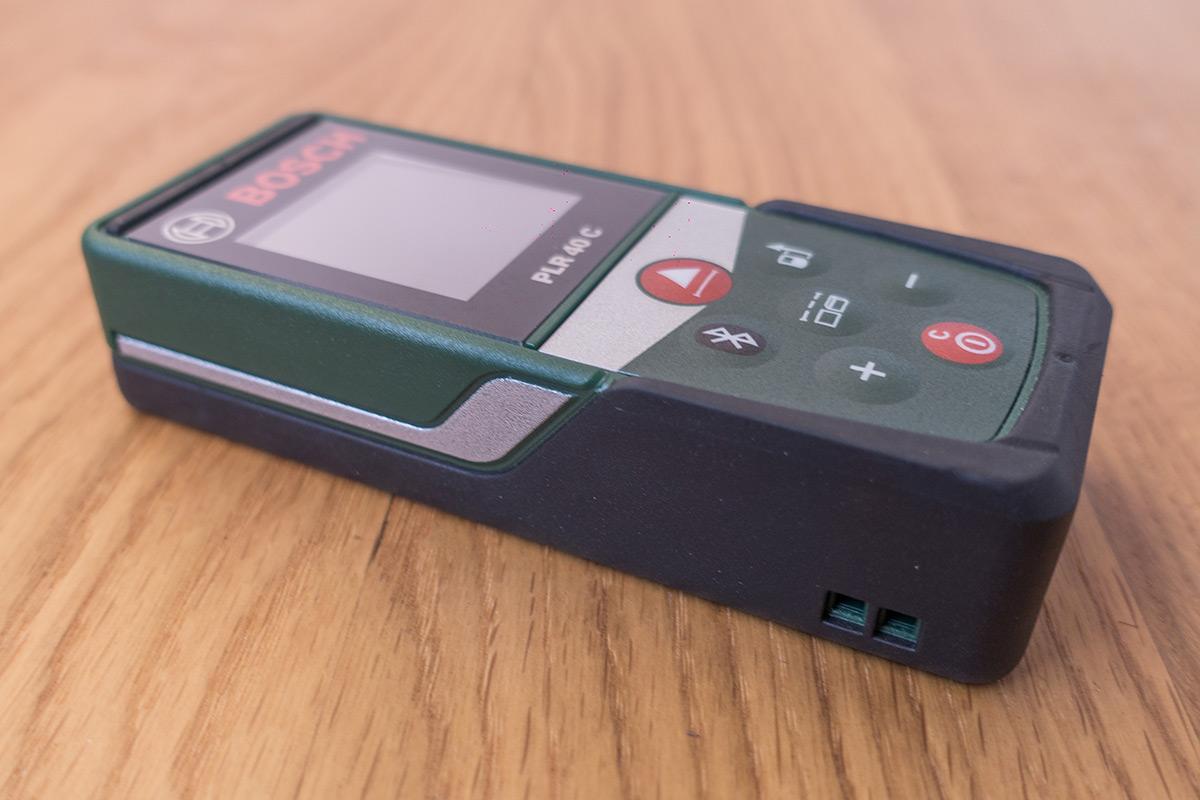 Test Entfernungsmesser Laser : Bosch plr c laser entfernungsmesser mit app anbindung im test