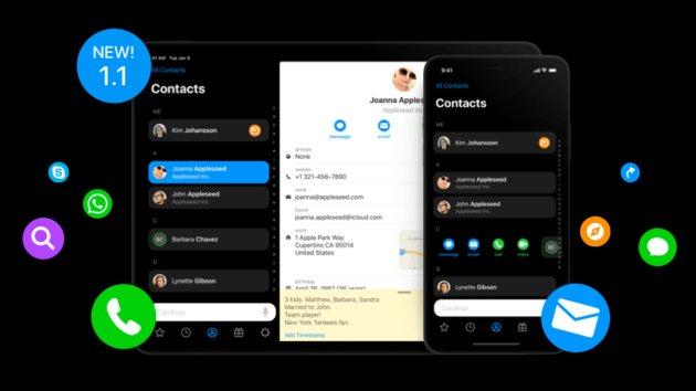 Cardhop Für Ios Kontakte App Der Fantastical Macher Mit