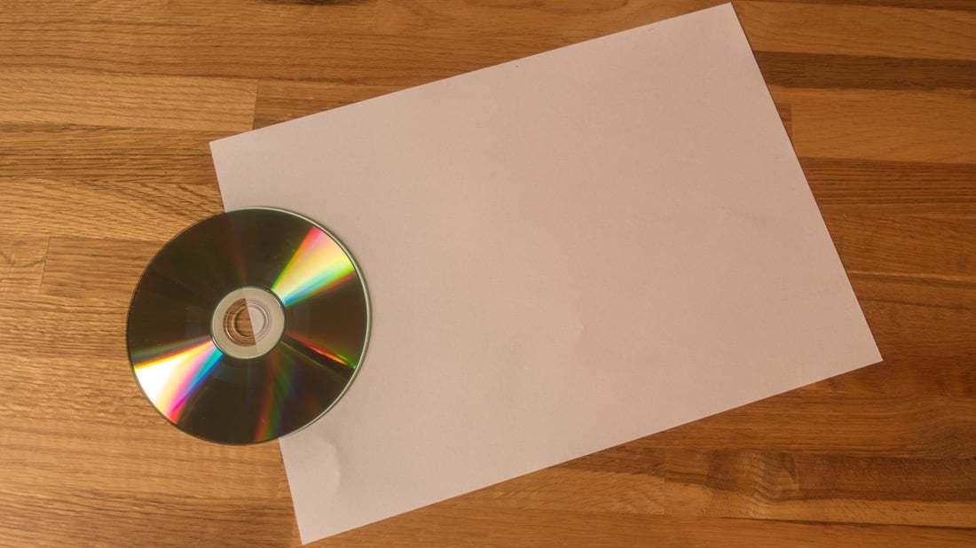 Top Lifehack: CD-Hüllen aus Din-A4 Papierblättern falten GK39