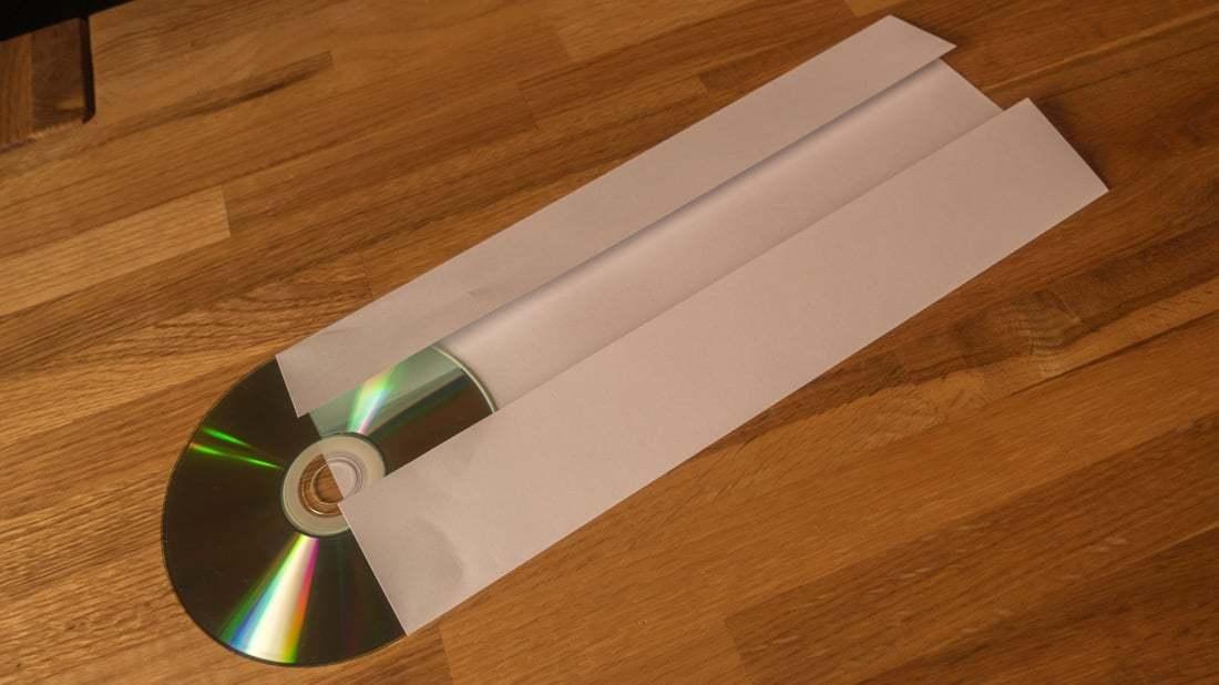 Lifehack Cd Hüllen Aus Din A4 Papierblättern Falten