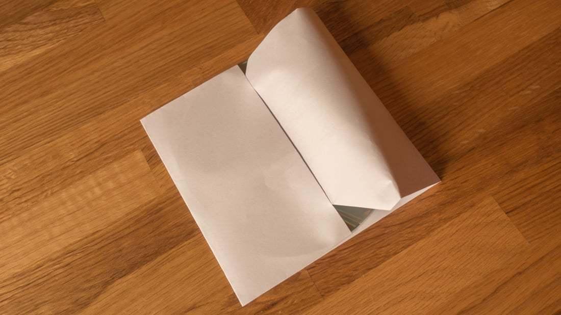 Gut bekannt Lifehack: CD-Hüllen aus Din-A4 Papierblättern falten WO81