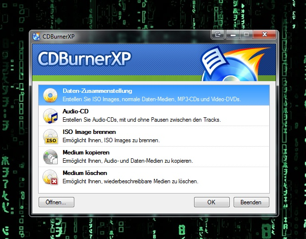 Cdburnerxp Dvd Brennen Funktioniert Nicht