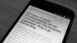 Chrome für Android: Den neuen Lesemodus freischalten