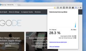 Chrome: Google veröffentlicht Browser-Erweiterung zur Datenkomprimierung