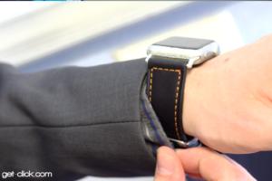 Click: Adapter für beliebige Uhrenarmbänder an der Apple Watch