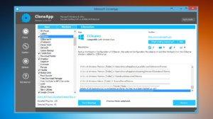 CloneApp für Windows: Anwendungseinstellungen sichern und wiederherstellen