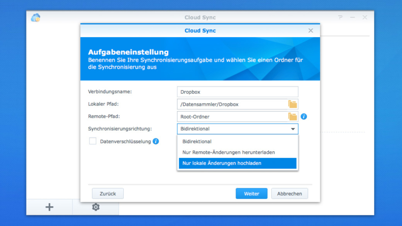 cloud-sync-synology-dsm6-2