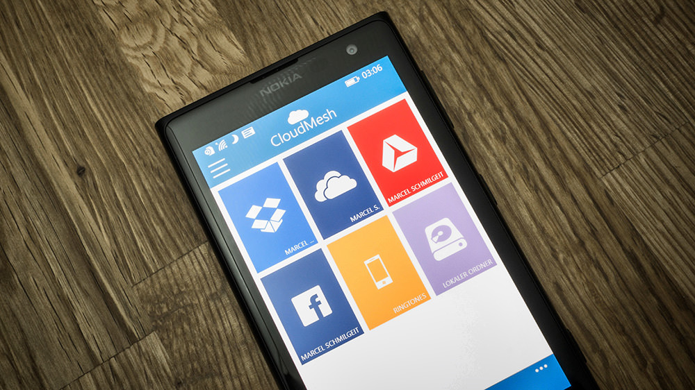 cloudmesh-windowsphone