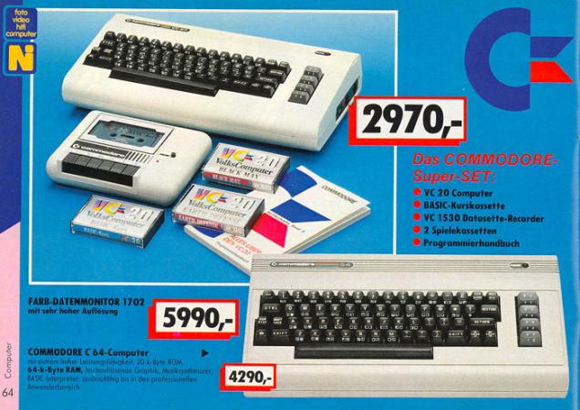 Dawn of Commodore C64