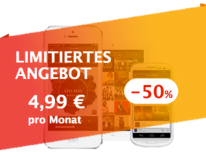 Deezer mit Aktionspreis: 6 Monate lang 4,99 Euro pro Monat