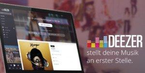 Deezer: Streaming-Dienst drei Monate kostenlos ausprobieren