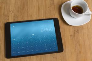 Design Calculator für's iPad: Schicker Taschenrechner aktuell für 0,99 Euro