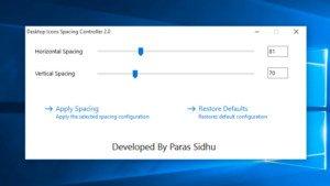 Windows: Abstände der Desktop-Icons verändern
