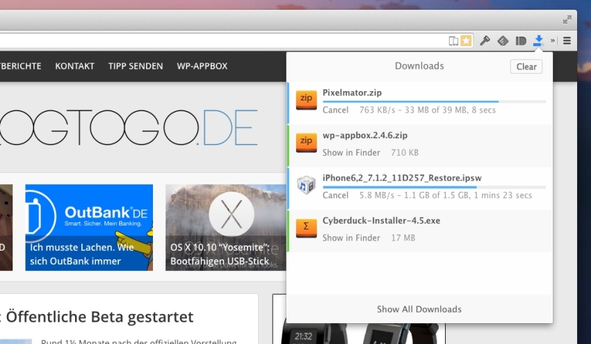 downloadr-chrome