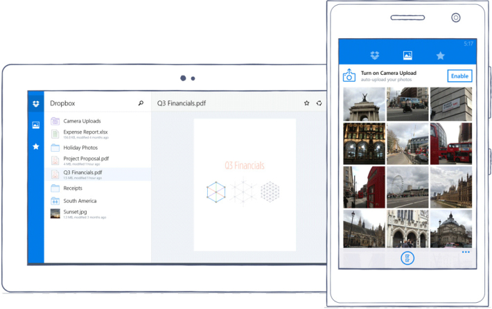 dropbox-windowsphone