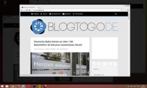 Windows: Dropcloth hebt das aktive Fenster hervor und verdunkelt den Rest des Desktops