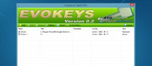 Evokeys: Dateien, Ordner und Systemfunktionen unter Windows mittels Shortcut aufrufen